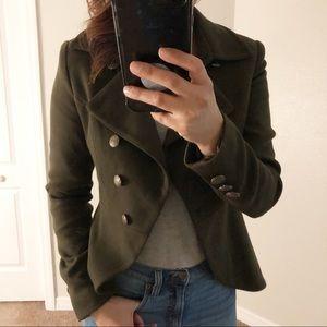 Forever 21 Womens Dark Green Jacket XS
